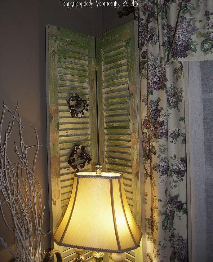 little change to the bi fold door, doors, home decor, repurposing upcycling