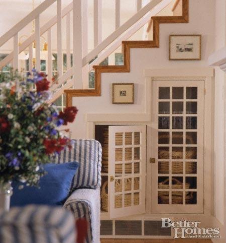 Beyond Under Stairs Storage Design Ideas - Wine Rack, Cupboards ...