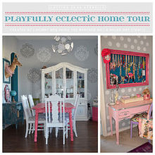 playfully eclectic home tour, home decor, painting