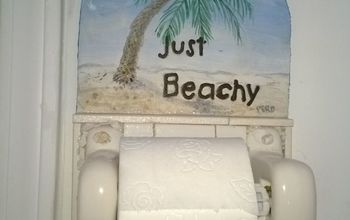 Reclaimed TP Holder Ready for the Beach