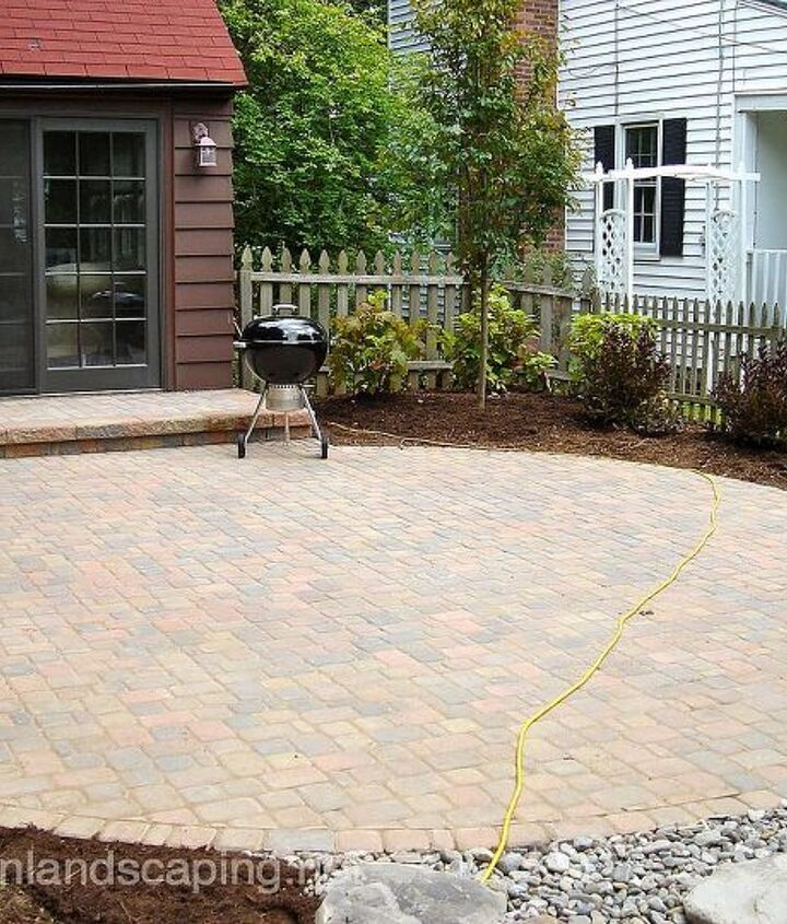Backyard Paver Patio Designer, Landscape Designer, Low Maintenance Plantings, Pondless Waterfalls, Steps, Led Landscape Lighting in Brighton NY by Acorn Landscaping, Patio Designers NY of Rochester NY. Contact us now  585-442-6373