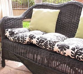 How To Paint Wicker Furniture, Painted Furniture, Sealed It With A Coat Of  Helmsman