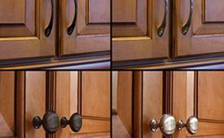 the top 5 high impact low cost home improvements, doors, home decor, Changing out door hardware throughout the interior of your home or making some changes to an external doorknob or fixture improves the look of eye level door knobs without breaking the bank