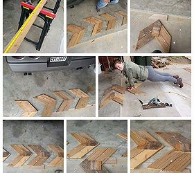 Chevron Diy Wall Art Using Wood Reclaimed Wood Or Pallet, Crafts, Home Decor ,