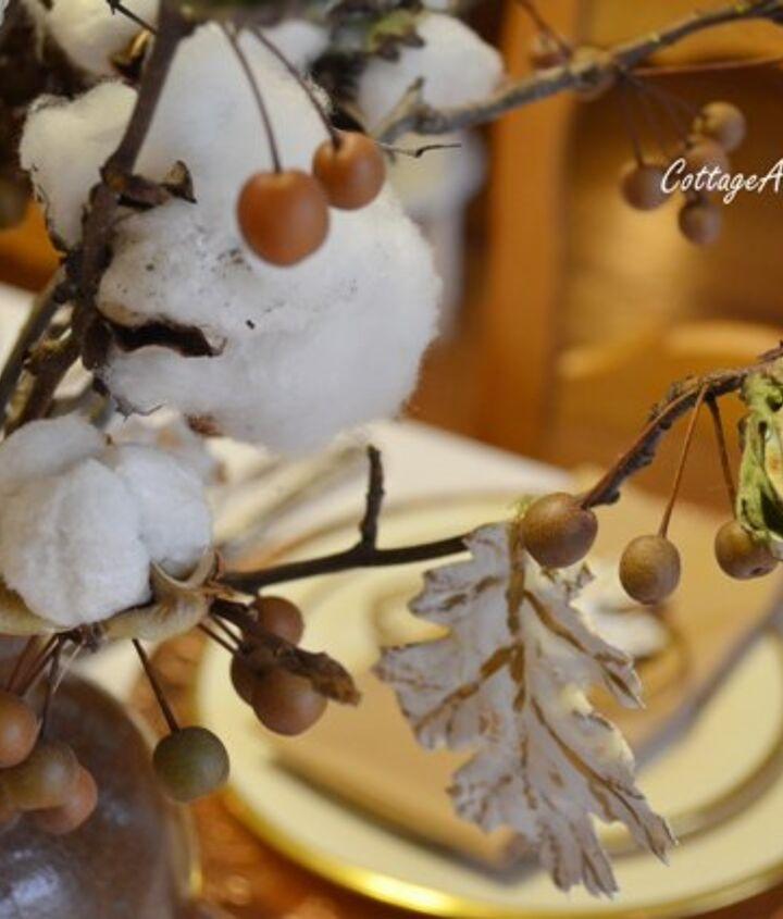 Cotton Centerpiece