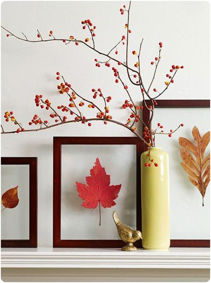 11 fun fall diy projects you can do this weekend with the family all for just a few, crafts, mason jars, Float fall leaves in a picture frame