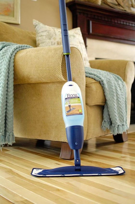 The Bona Hardwood Floor Mop is my new favorite cleaning product. I've tried a few others but this one I like the best.