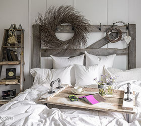 Tight For Space For A Side Table Go Up With A Ladder, Bedroom Ideas,