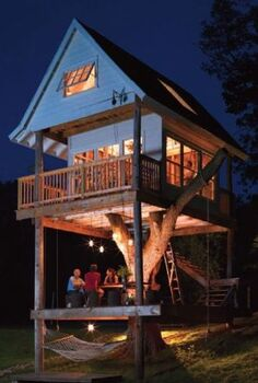 5 amazing treehouses, outdoor living, Treehouse for adults