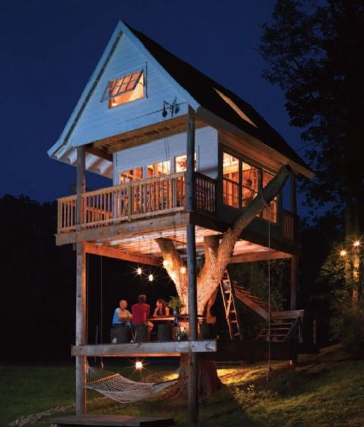 Treehouse for adults