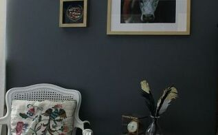 a southern girl s gallery wall inspired by her grannie, home decor, living room ideas