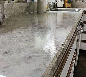 Delightful Painted Laminate Countertops, Countertops, Painting