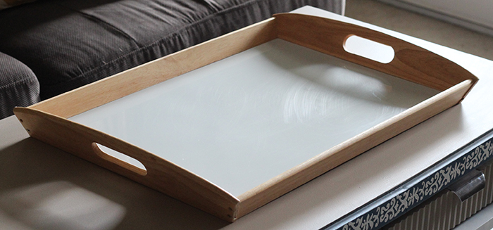 diy french cottage tray, crafts