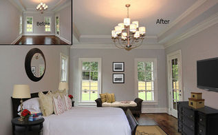 virtual staging before after photo of the week happy friday, bedroom ideas, home decor, real estate, Photo courtesy of VSP