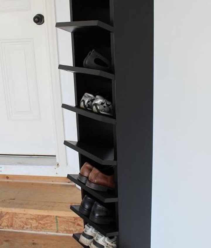 Our new shoe rack.