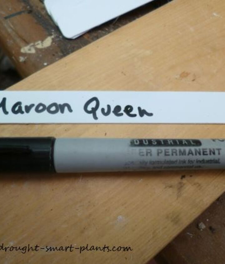 I write a new label with industrial Sharpie pen; there is nothing more frustrating than trying to figure out what the faded label says - now I also make two labels for each type, just in case one gets lost.