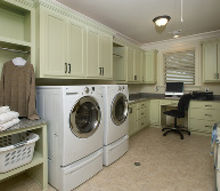 new custom designed laundry room, home decor, laundry rooms, shelving ideas, storage ideas, New laundry room home in Sandy Springs GA Design by Becky Sue Becker CMKBD CAPS