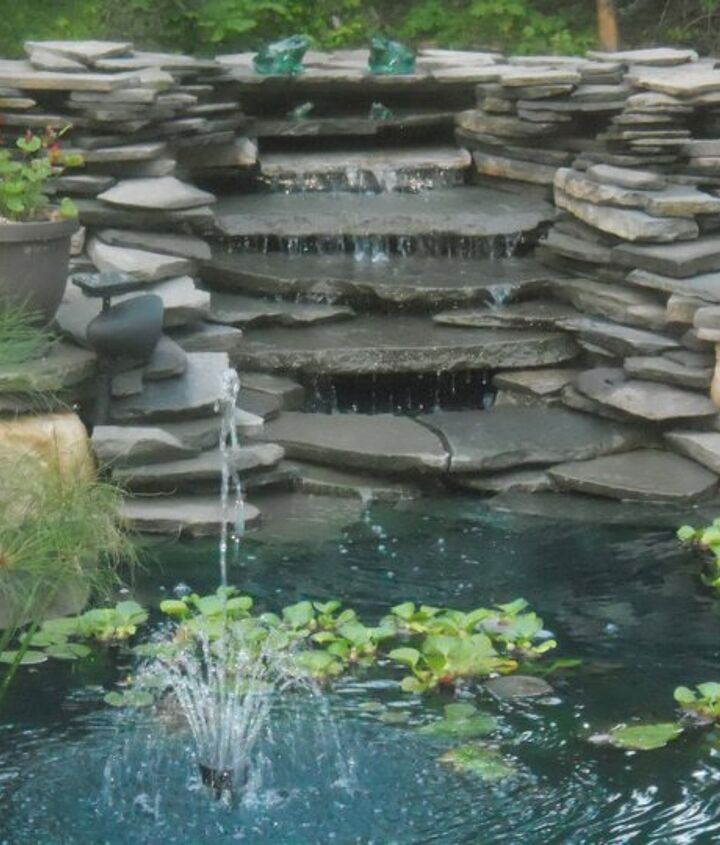 Waterfalls done last summer. I waited until I was finished with all to post to hometalk.
