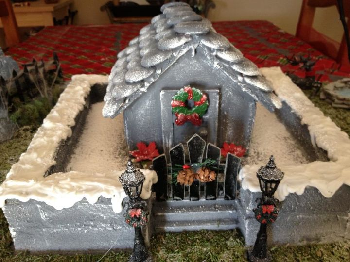 Haunted Christmas Gingerbread House