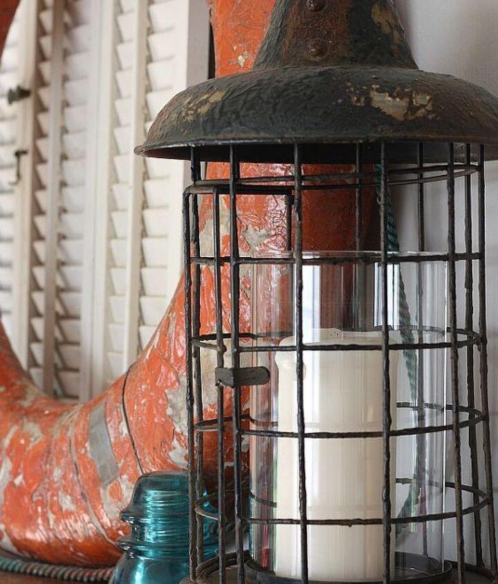I love this lantern that I found on Zulily.