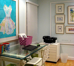Home Office Art Studio Design, Craft Rooms, Home Decor, Home Office, Trestle