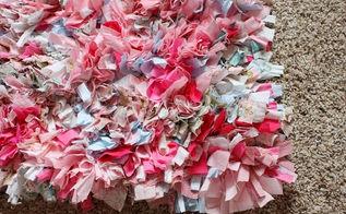 rag rug from scrap fabrics, crafts, reupholster