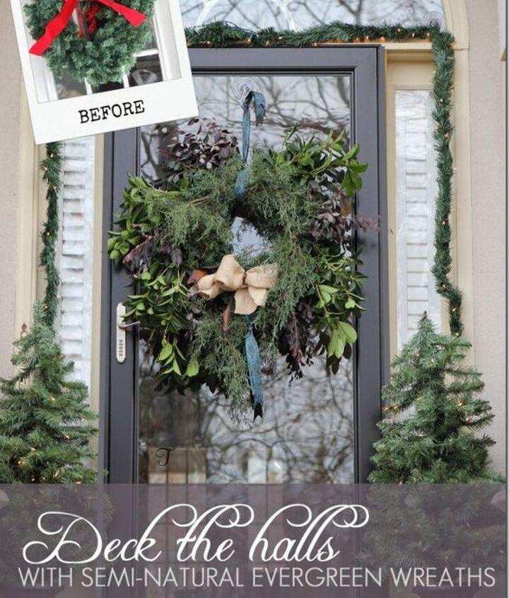 http://www.hometalk.com/671637/how-to-make-a-semi-natural-evergreen-wreath