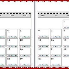 free printable blog planner for 2014