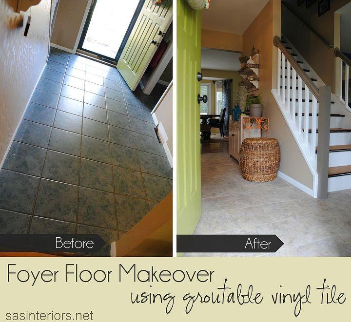 Installing Groutable Luxury Vinyl Tile Flooring Tiling