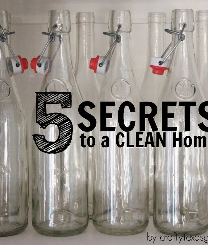5 Secrets you may not know about cleaning your home.