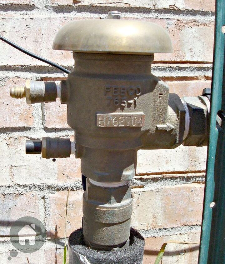 Reopen the valves to the sprinkler system