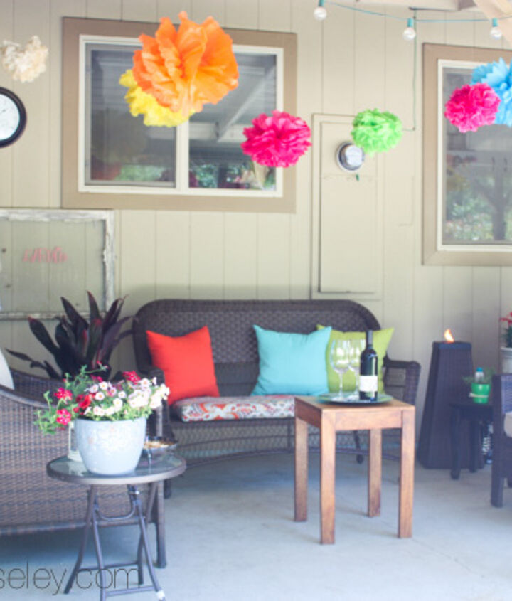 I love our new space.  It's the perfect place to hang out with my hubby during the week, and our friends on the weekends!