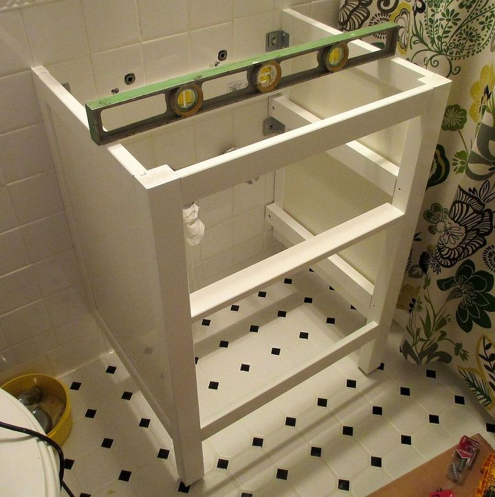 Bathroom Renovation How To Install An Ikea Hemnes Sink Cabinet Ideas Plumbing