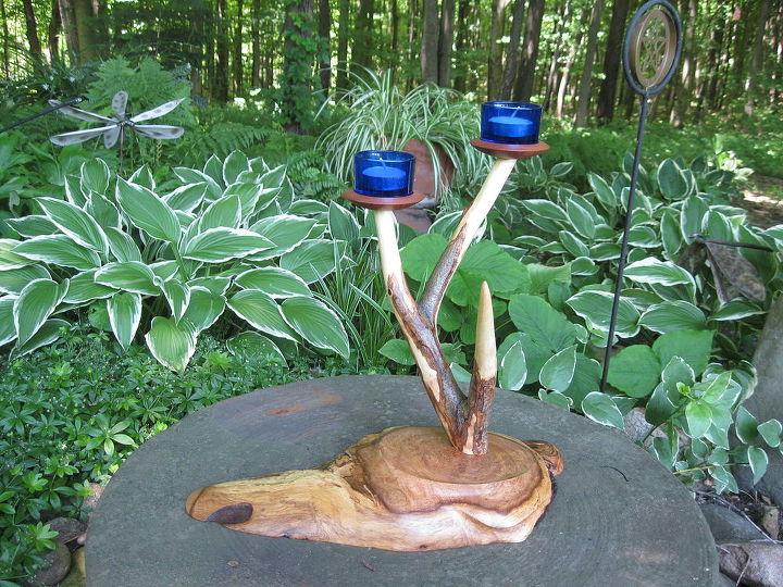 another branch candleholder, gardening, outdoor living