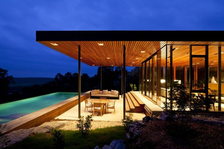 wimberley residence by cunningham architects, architecture, decks, outdoor living