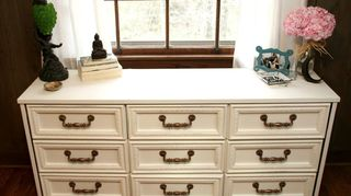 q bedroom furniture, painted furniture
