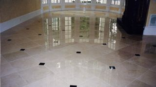q we have some travertine tile that we need installed in our entry way, flooring, tile flooring, tiling