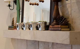 diy christmas bell garland, christmas decorations, crafts, seasonal holiday decor, Hang it as part of your mantelscape or across a window or along your bannister anywhere