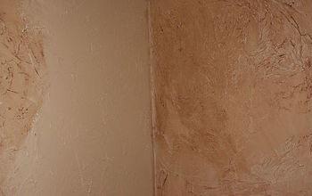 DIY fix to hide damaged walls or paneling
