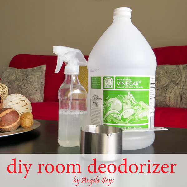 homemade room deodorizer, cleaning tips