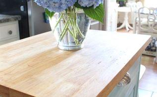 kitchen cart makeover, chalk paint, home decor, kitchen design, painted furniture
