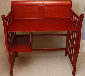 Upcycle Baby Changing Table To Desk, Painted Furniture, Repurposing  Upcycling, After Photo Of