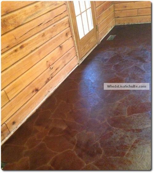 My Brown Paper Bag Floor Diy Flooring How To Tile