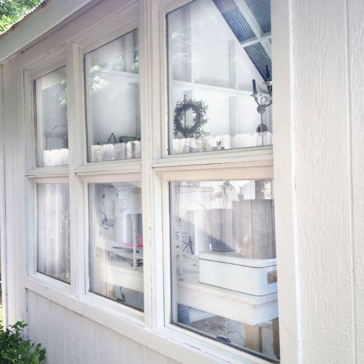 on the left side, are 3  windows from the same remodel.  to save money, we used 6' fence pickets for most of the trim.