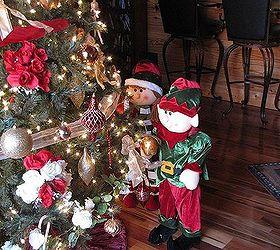 Wedding decorations turned christmas tree decorations hometalk