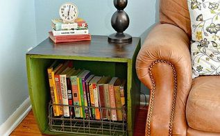 potato bin end tables, diy, home decor, how to, living room ideas, painted furniture, repurposing upcycling