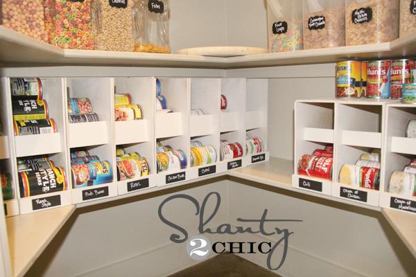 Diy Canned Food Organizers Hometalk
