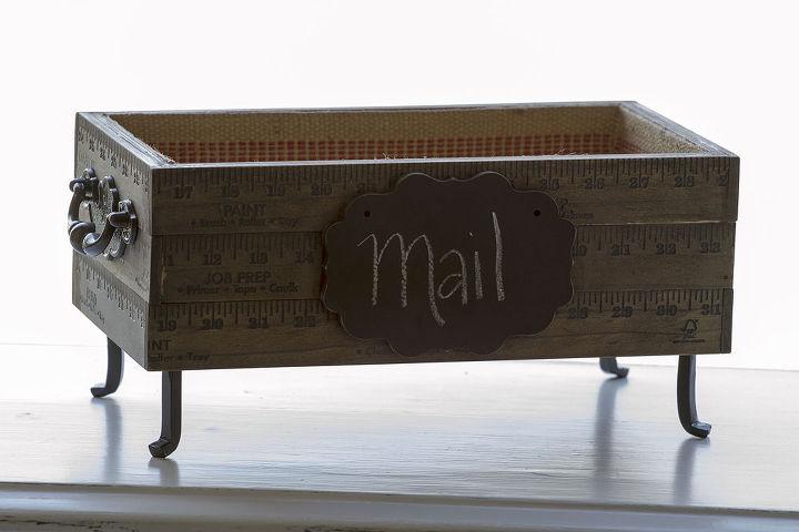 yard stick box, repurposing upcycling, Yard Stick Box Project