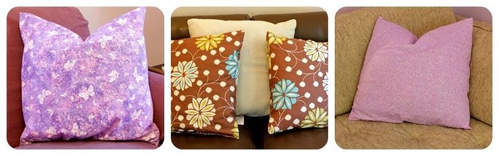 Recovered pillows