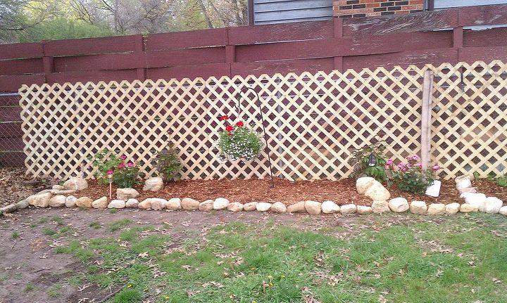 Hiding Unsightly Fence Areas Hometalk